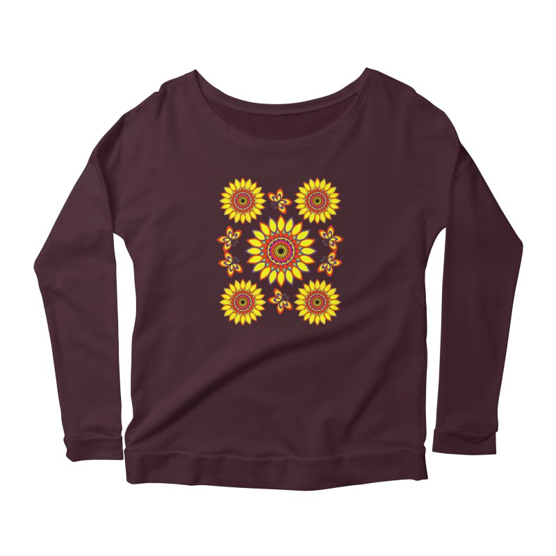 Daisy Days of Summer Women's Longsleeve T-Shirt by jandeangelis's Artist Shop