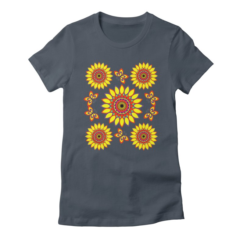 Daisy Days of Summer Women's T-Shirt by jandeangelis's Artist Shop