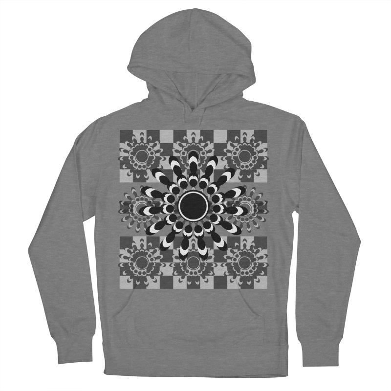 Flower Power  Women's French Terry Pullover Hoody by jandeangelis's Artist Shop