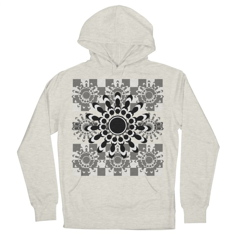 Flower Power  Men's French Terry Pullover Hoody by jandeangelis's Artist Shop