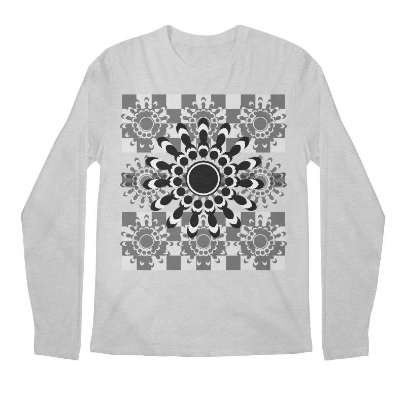 Flower Power  Men's Regular Longsleeve T-Shirt by jandeangelis's Artist Shop