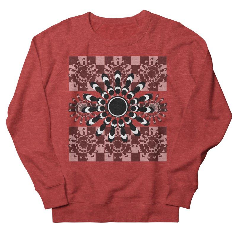 Flower Power  Men's French Terry Sweatshirt by jandeangelis's Artist Shop
