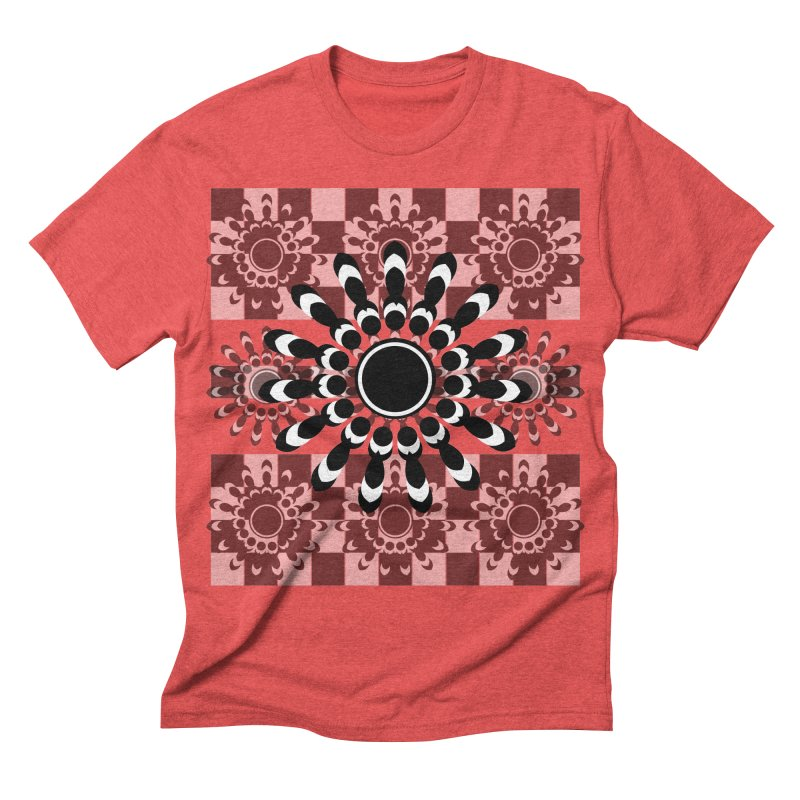 Flower Power  Men's Triblend T-shirt by jandeangelis's Artist Shop