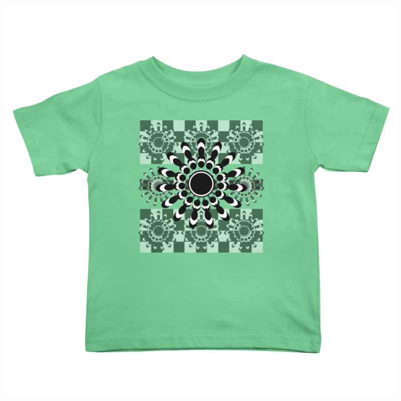 Flower Power  Kids Toddler T-Shirt by jandeangelis's Artist Shop