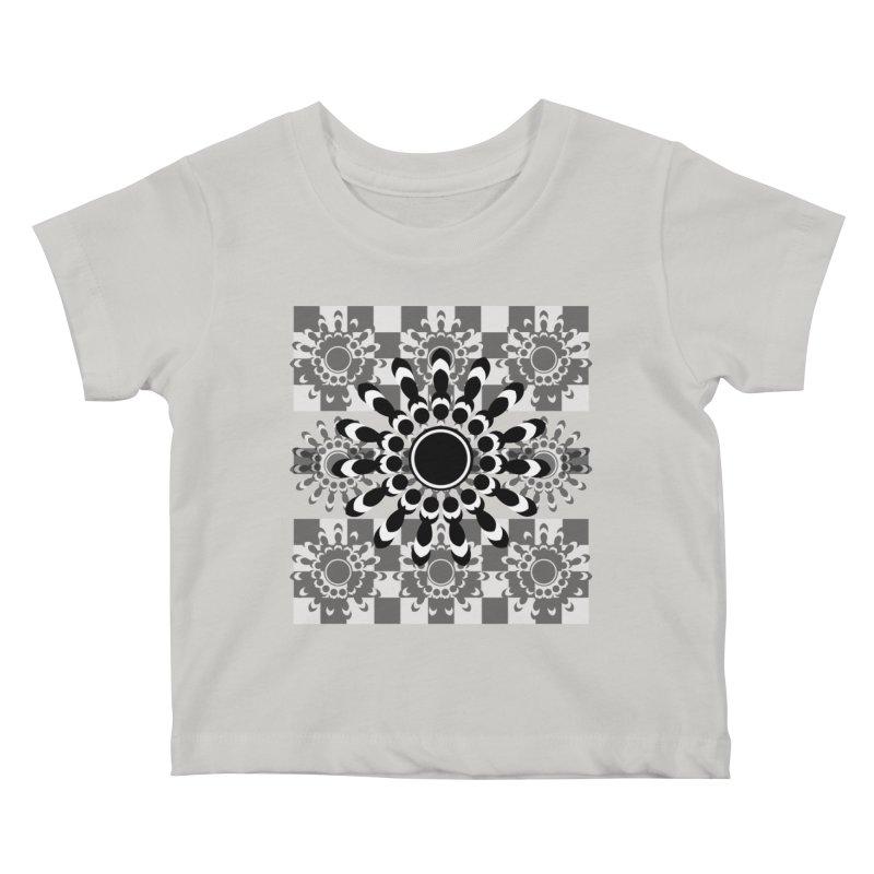 Flower Power  Kids Baby T-Shirt by jandeangelis's Artist Shop