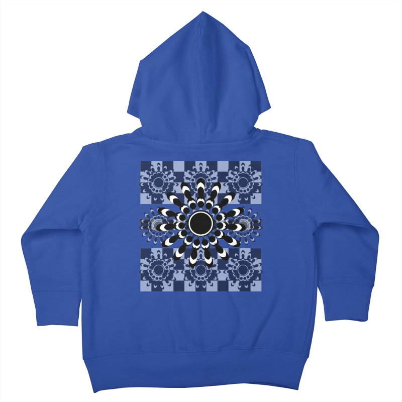 Flower Power  Kids Toddler Zip-Up Hoody by jandeangelis's Artist Shop