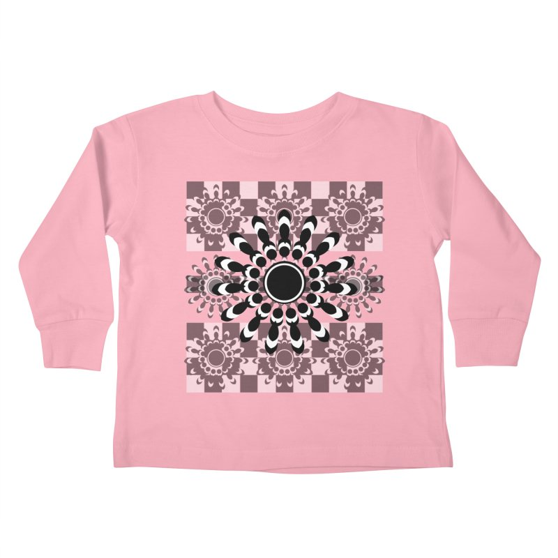 Flower Power  Kids Toddler Longsleeve T-Shirt by jandeangelis's Artist Shop