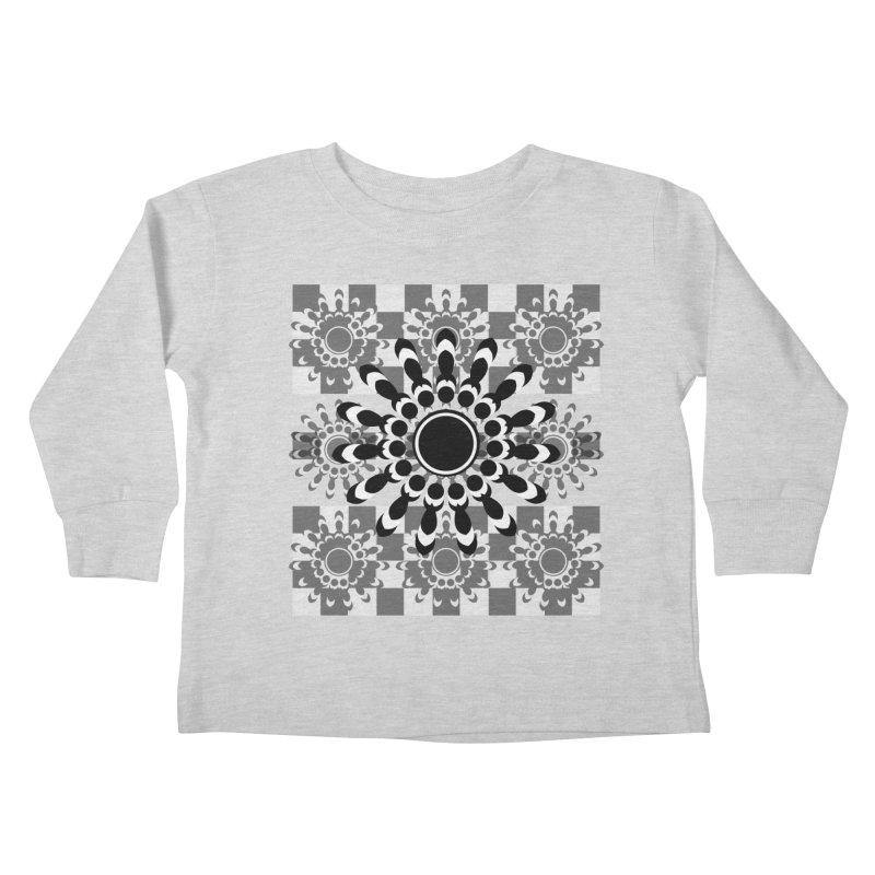 Flower Power  Kids Toddler Longsleeve T-Shirt by jandeangelis's Artist Shop