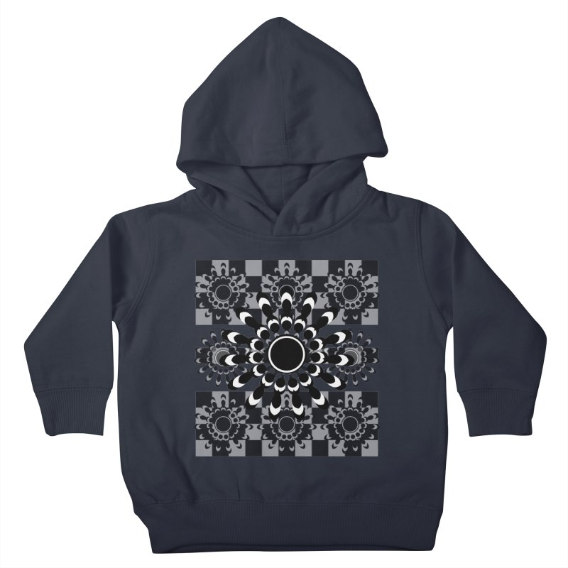 Flower Power  Kids Toddler Pullover Hoody by jandeangelis's Artist Shop