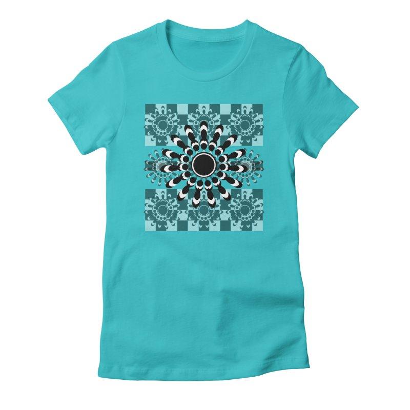 Flower Power  Women's T-Shirt by jandeangelis's Artist Shop