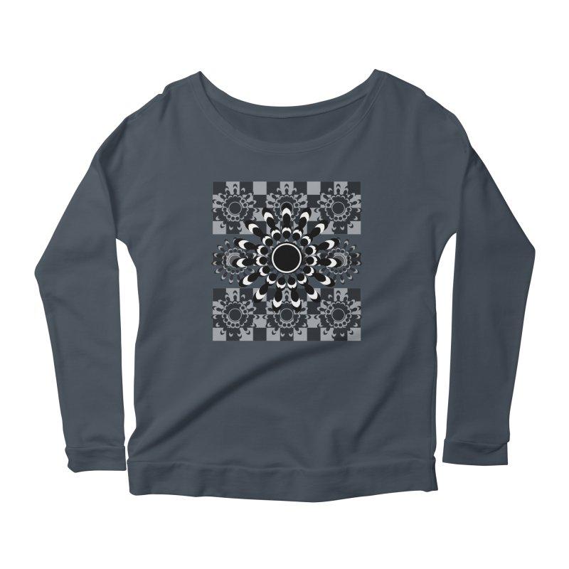 Flower Power  Women's Scoop Neck Longsleeve T-Shirt by jandeangelis's Artist Shop