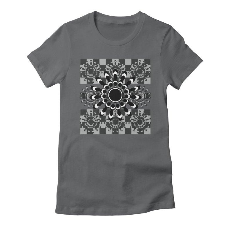 Flower Power  Women's Fitted T-Shirt by jandeangelis's Artist Shop