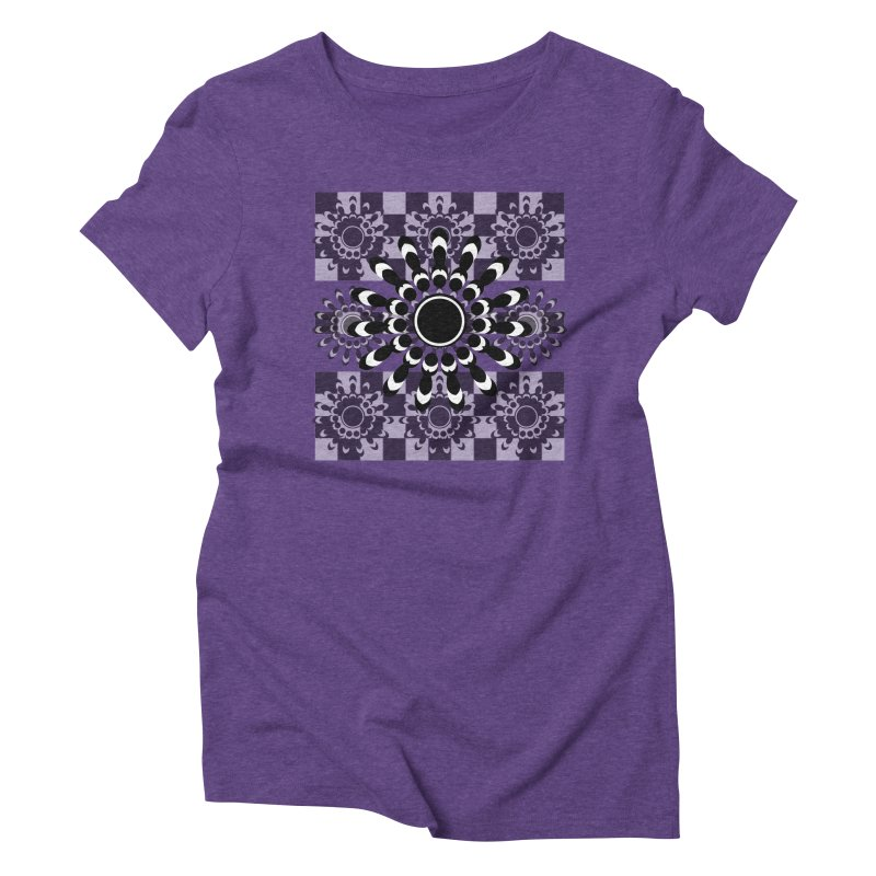 Flower Power  Women's Triblend T-Shirt by jandeangelis's Artist Shop