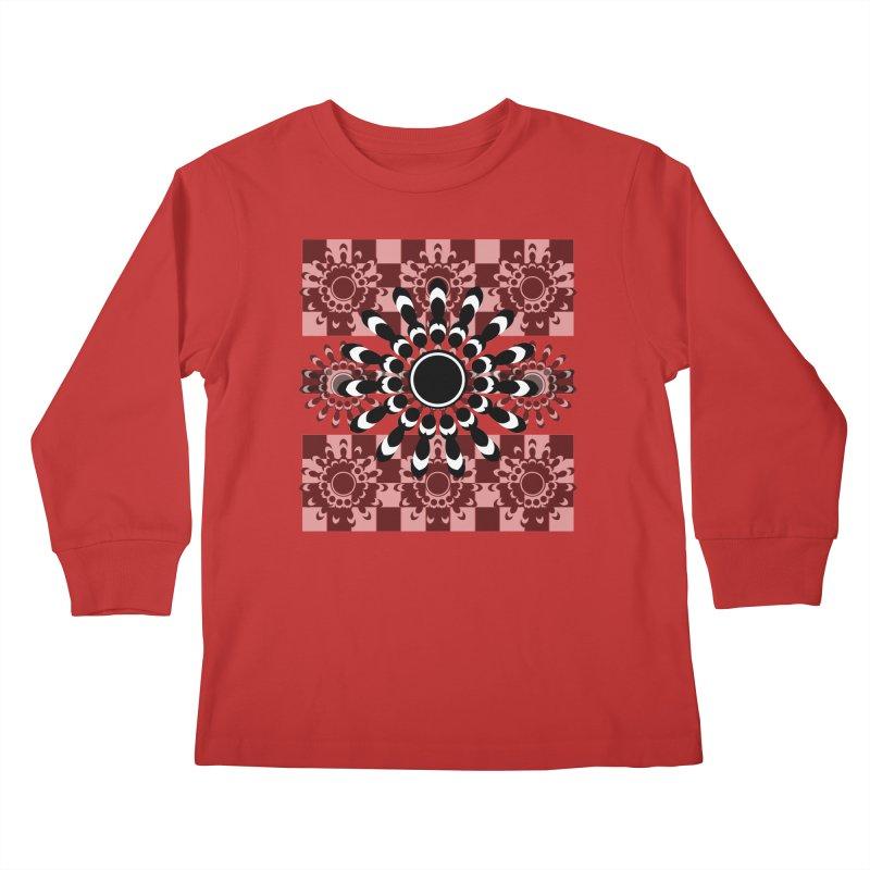 Flower Power  Kids Longsleeve T-Shirt by jandeangelis's Artist Shop