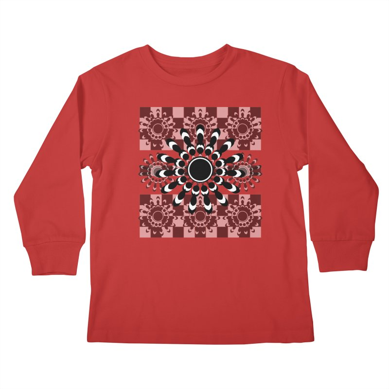 Flower Power  Kids Longsleeve T-Shirt by jandeangelis's Artist Shop