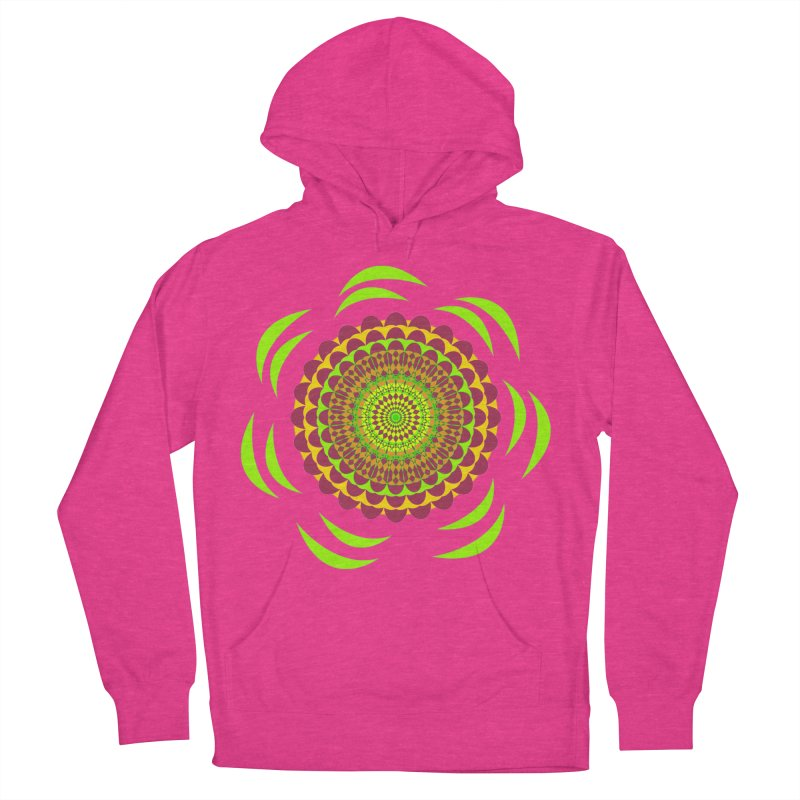 Psychedelic Flower Power Women's Pullover Hoody by jandeangelis's Artist Shop
