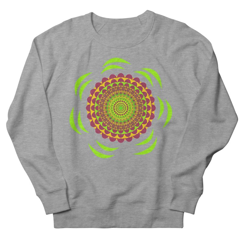 Psychedelic Flower Power Men's Sweatshirt by jandeangelis's Artist Shop