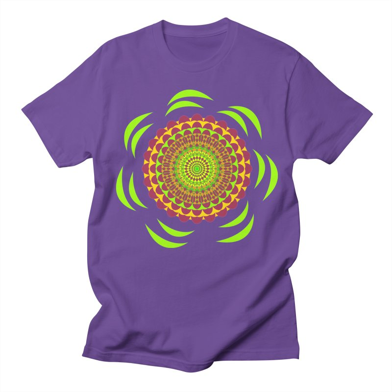 Psychedelic Flower Power Men's T-Shirt by jandeangelis's Artist Shop