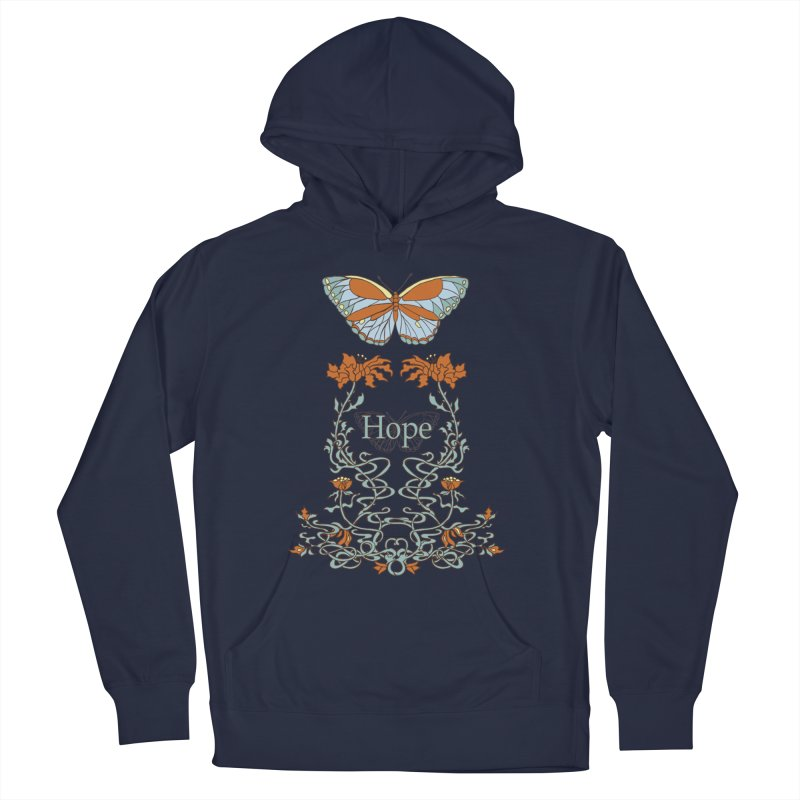 Hope Butterfly  Men's Pullover Hoody by jandeangelis's Artist Shop