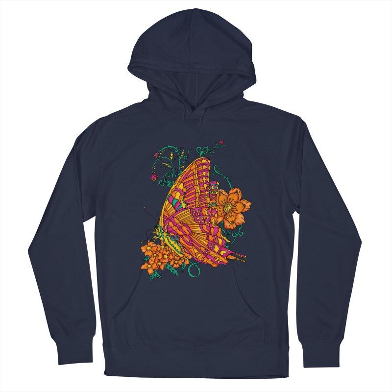 Tye Dye Butterfly Men's Pullover Hoody by jandeangelis's Artist Shop