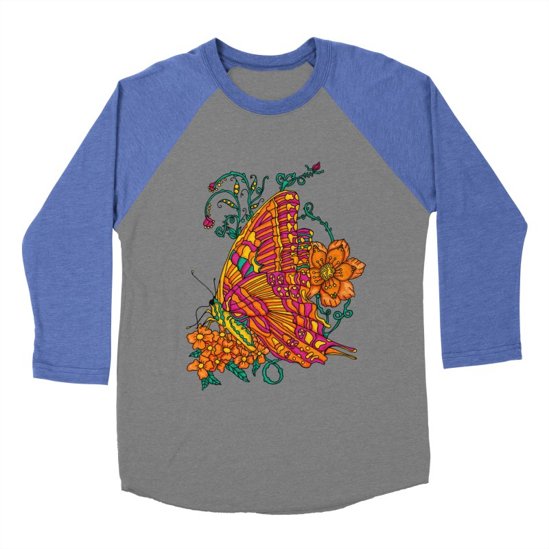 Tye Dye Butterfly Men's Longsleeve T-Shirt by jandeangelis's Artist Shop