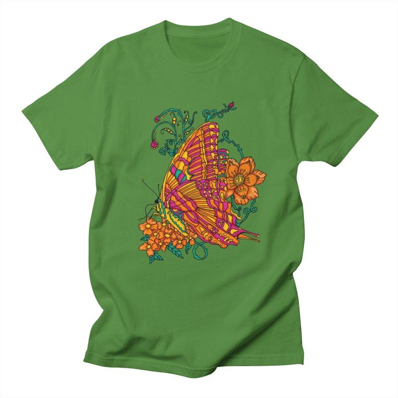 Tye Dye Butterfly Men's Regular T-Shirt by jandeangelis's Artist Shop