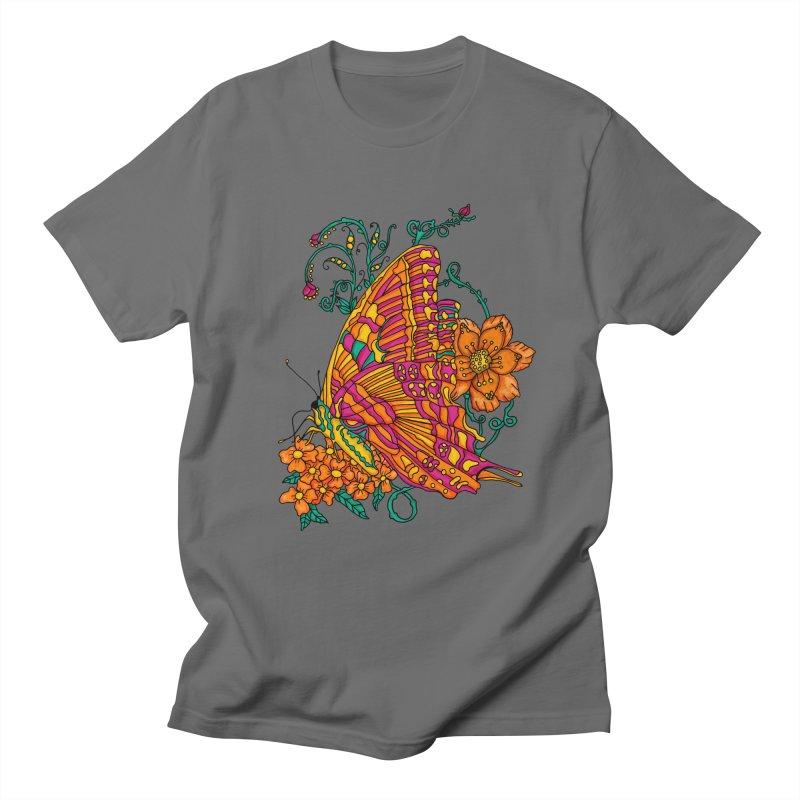 Tye Dye Butterfly Men's T-Shirt by jandeangelis's Artist Shop