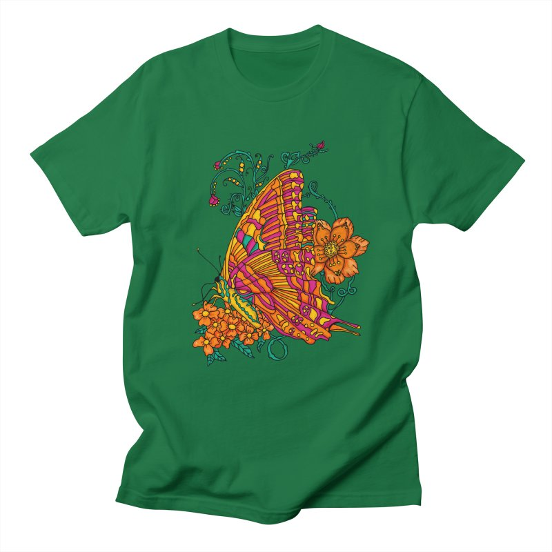 Tye Dye Butterfly Men's Regular T-Shirt by jandeangelis's Artist Shop