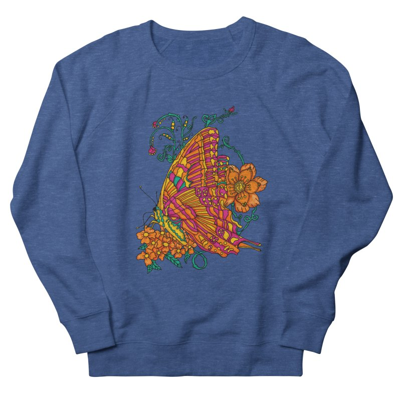 Tye Dye Butterfly Men's Sweatshirt by jandeangelis's Artist Shop