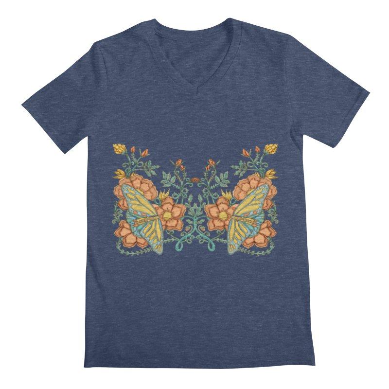 Butterflies in Flowers and Vines   by jandeangelis's Artist Shop