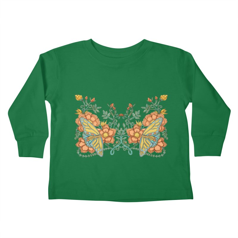 Butterflies in Flowers and Vines   by jandeangelis's Artist Shop