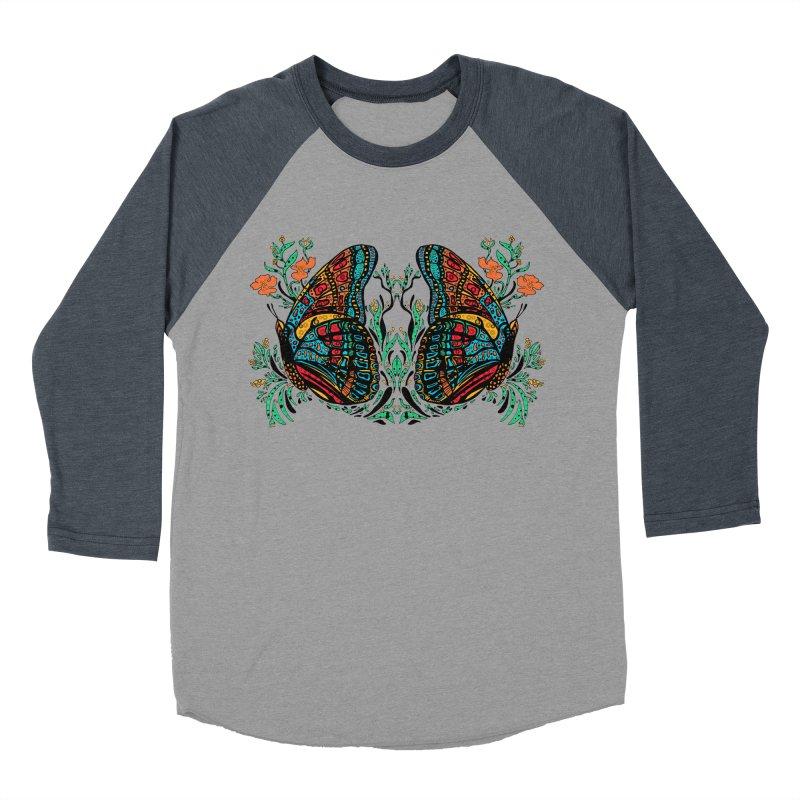 Turquoise Butterfly Women's Longsleeve T-Shirt by jandeangelis's Artist Shop