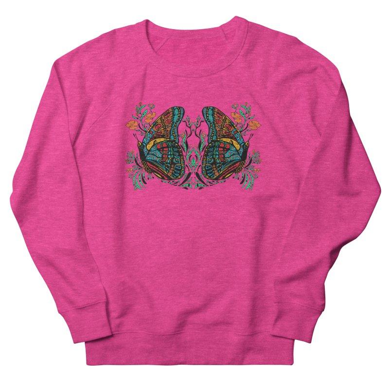 Turquoise Butterfly Men's Sweatshirt by jandeangelis's Artist Shop