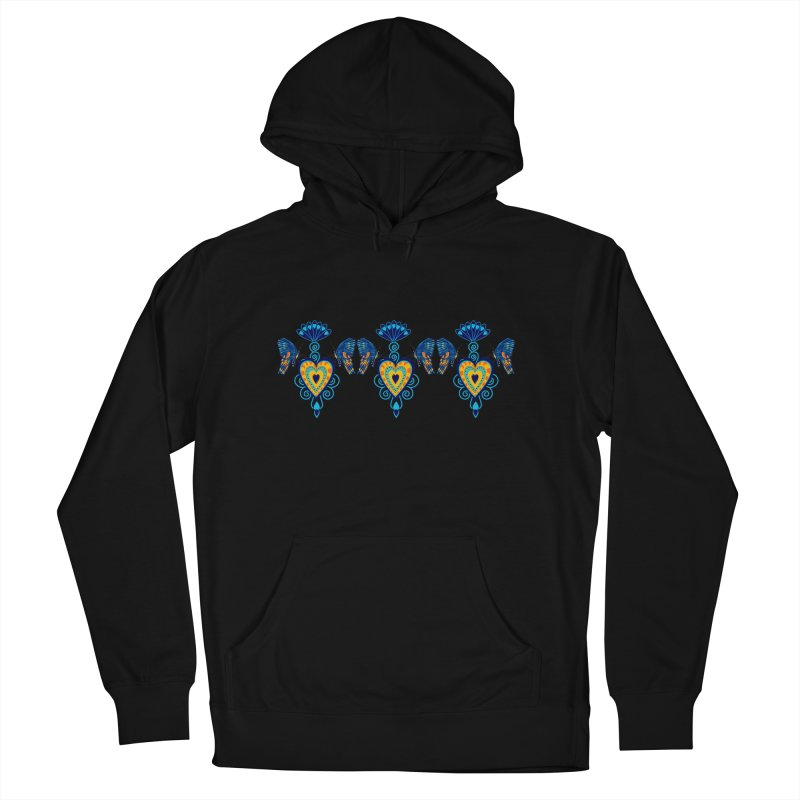Jeweled Heart Butterflies Women's Pullover Hoody by jandeangelis's Artist Shop