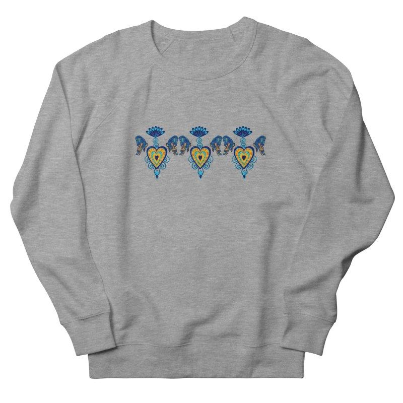 Jeweled Heart Butterflies Women's French Terry Sweatshirt by jandeangelis's Artist Shop