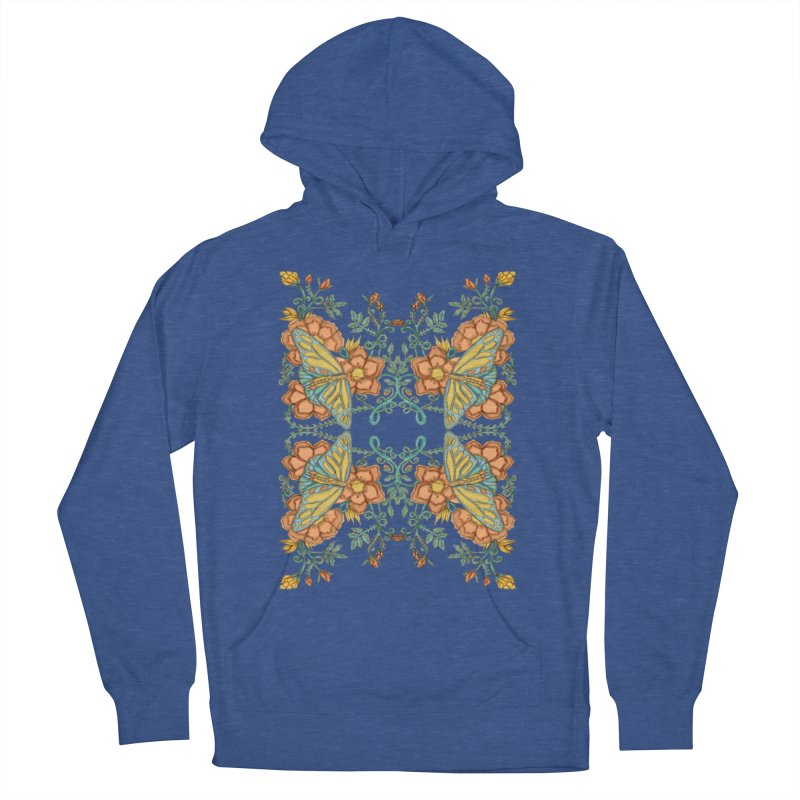 Victorian Butterfly In Summer Women's Pullover Hoody by jandeangelis's Artist Shop