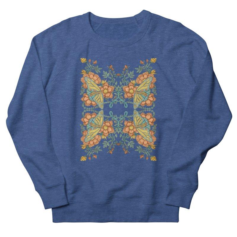 Victorian Butterfly In Summer Women's French Terry Sweatshirt by jandeangelis's Artist Shop