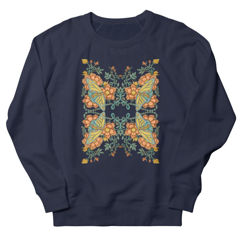 Victorian Butterfly In Summer Women's Sweatshirt by jandeangelis's Artist Shop