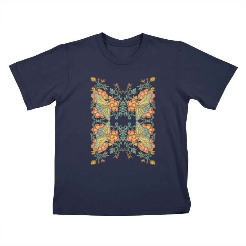 Victorian Butterfly In Summer Kids Toddler T-Shirt by jandeangelis's Artist Shop