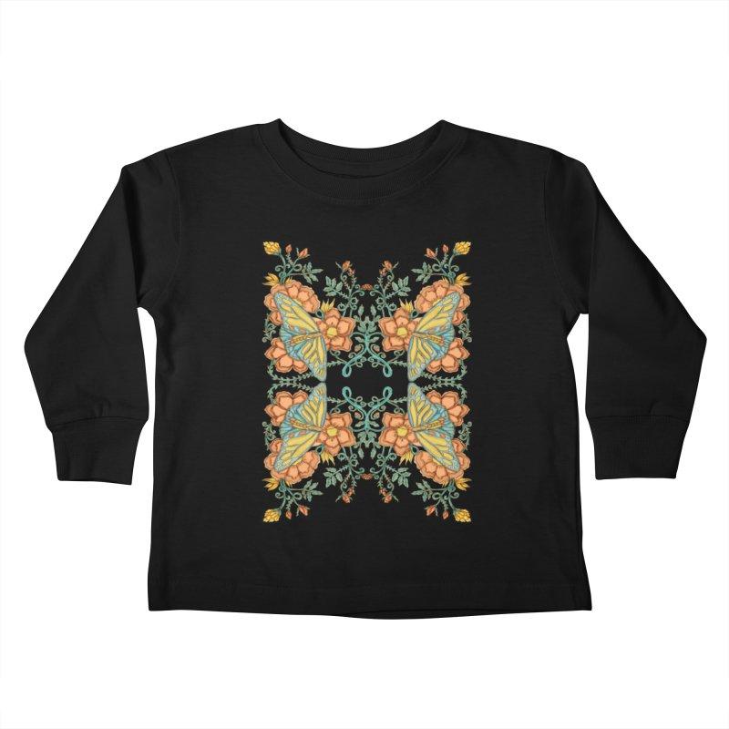 Victorian Butterfly In Summer Kids Toddler Longsleeve T-Shirt by jandeangelis's Artist Shop