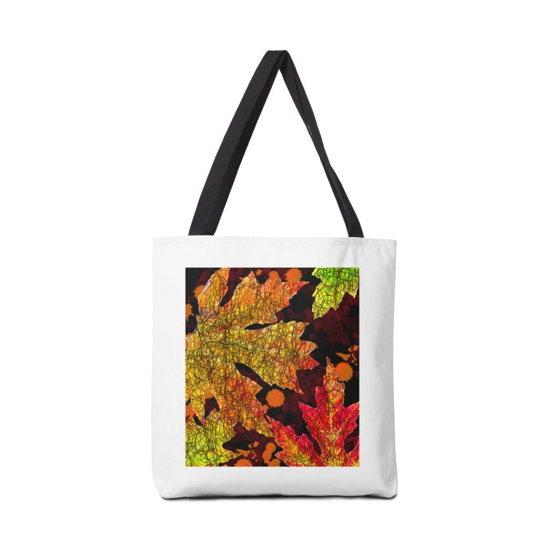 Fall Leaves Accessories Tote Bag Bag by jandeangelis's Artist Shop