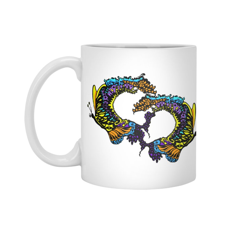 Butterflysplash Accessories Standard Mug by jandeangelis's Artist Shop
