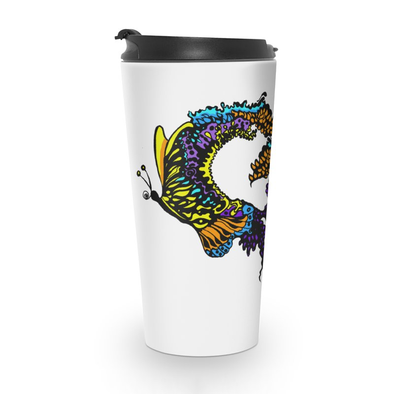 Butterflysplash Accessories Travel Mug by jandeangelis's Artist Shop