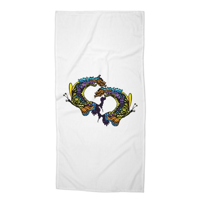 Butterflysplash Accessories Beach Towel by jandeangelis's Artist Shop