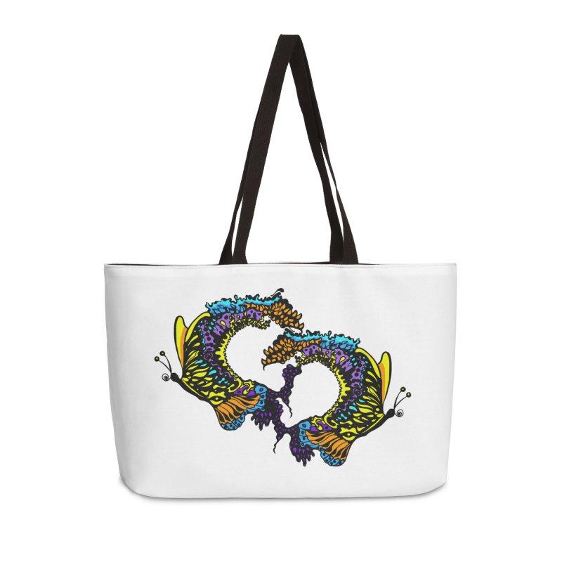 Butterflysplash Accessories Weekender Bag Bag by jandeangelis's Artist Shop