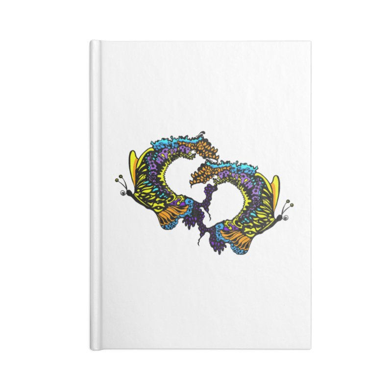 Butterflysplash Accessories Blank Journal Notebook by jandeangelis's Artist Shop