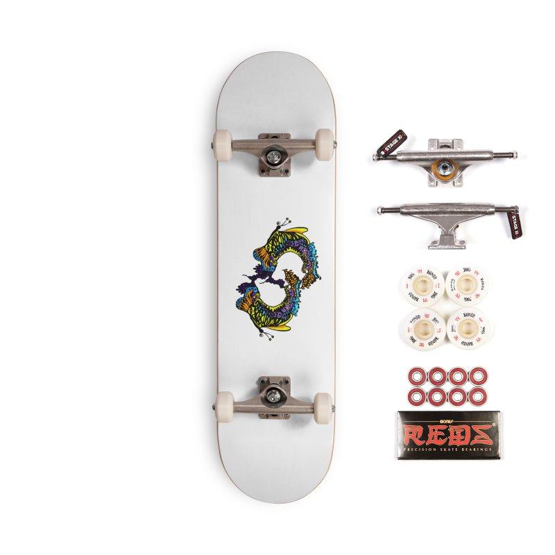 Butterflysplash Accessories Complete - Pro Skateboard by jandeangelis's Artist Shop