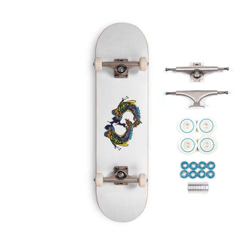 Butterflysplash Accessories Complete - Basic Skateboard by jandeangelis's Artist Shop