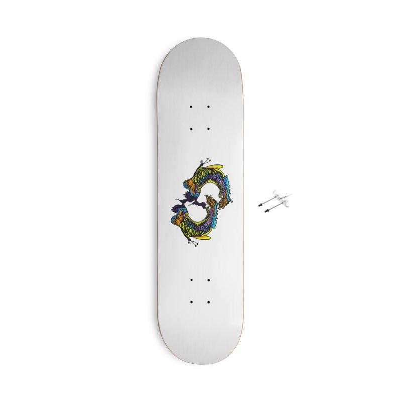 Butterflysplash Accessories Skateboard by jandeangelis's Artist Shop