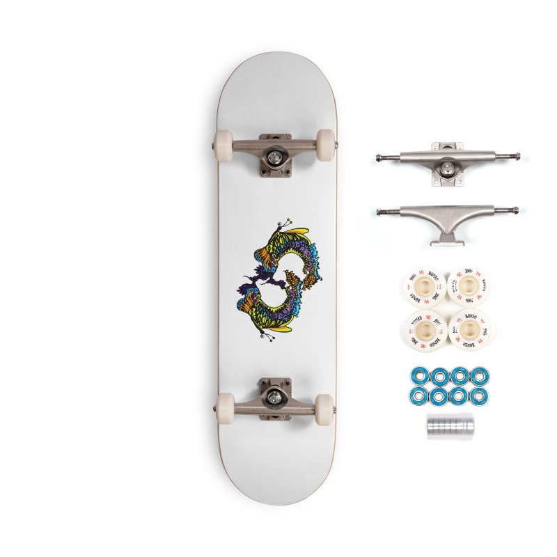 Butterflysplash Accessories Complete - Premium Skateboard by jandeangelis's Artist Shop